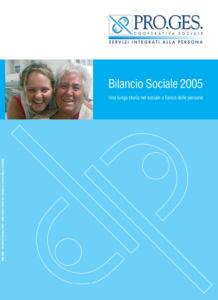 Bilancio Sociale 2005 Proges, Io Sono Socio Proges