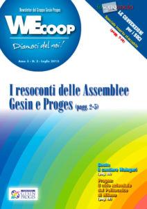 WEcoop n°2 Lug. 2013, Io Sono Socio Proges