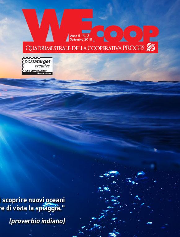 WeCoop n°2 Settembre 2018, Io Sono Socio Proges